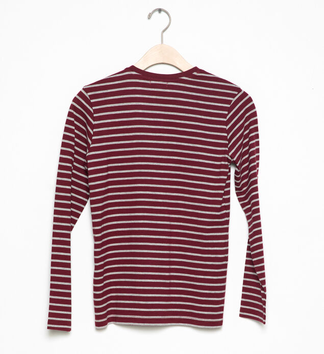 Long-Sleeve Striped Tee (4-7)