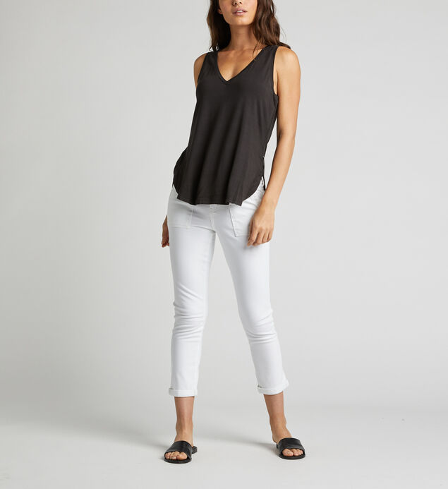 Aluna Tank Top, Black, hi-res