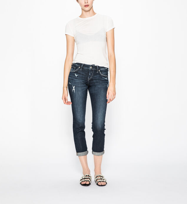 Sam Dark Wash Boyfriend Jean