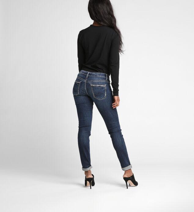 5e1dca0f3ed91 Boyfriend Mid Rise Slim Leg Jeans
