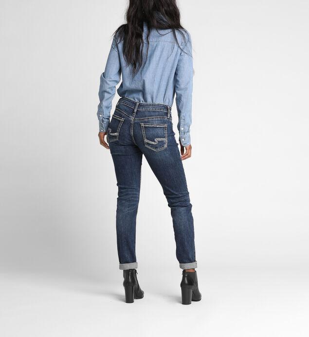 Mid-Rise Boyfriend Jeans, , hi-res