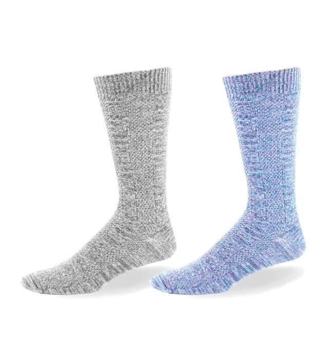 Link Patterned Over-The-Calf Mens Socks