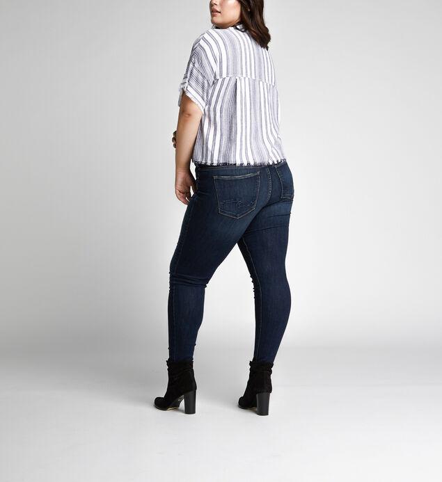 Suki Mid Rise Skinny Leg Jeans Plus Size, , hi-res