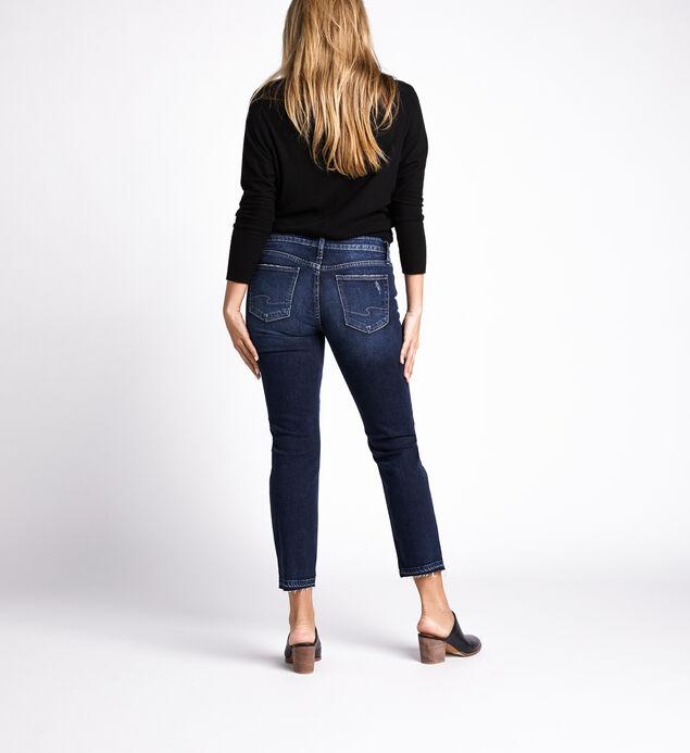 Suki Mid Rise Slim Leg Jeans, Indigo, hi-res