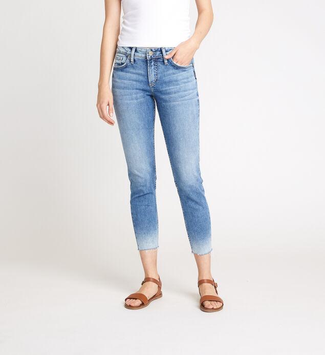 Elyse Mid Rise Skinny Crop Jeans