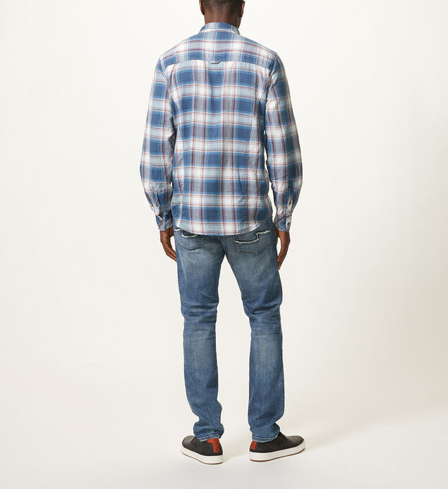 Cameron Plaid Slim Fit Shirt, , hi-res