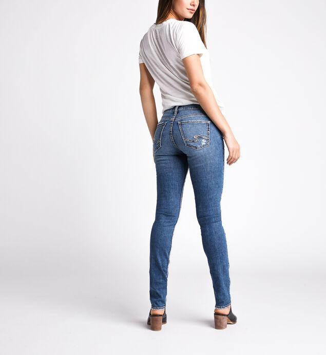 Avery High Rise Slim Leg Jeans, Indigo, hi-res
