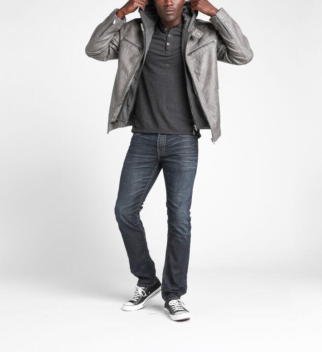 Fredric Faux-Leather Jacket, , hi-res