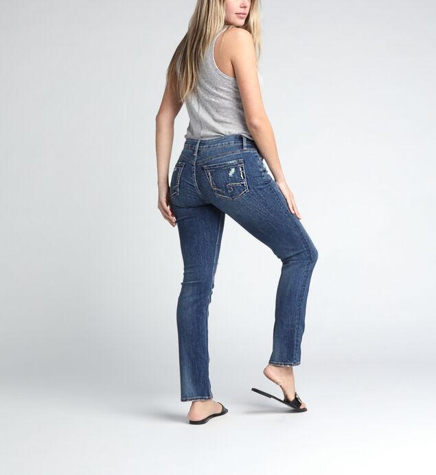 Suki Mid Rise Straight Leg Jeans, , hi-res