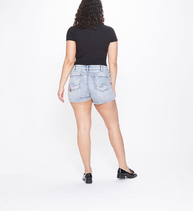 Aiko Mid Rise Short Plus Size, , hi-res