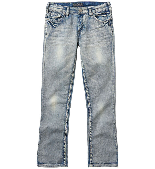 Tammy Bootcut Jeans in Bleached Wash (7-16)