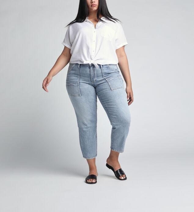 In The Loop Mid Rise Ankle Slim Leg JeansPlus Size