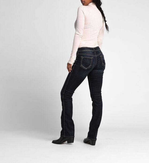 Suki Curvy Mid-Rise Slim Bootcut Jeans, , hi-res
