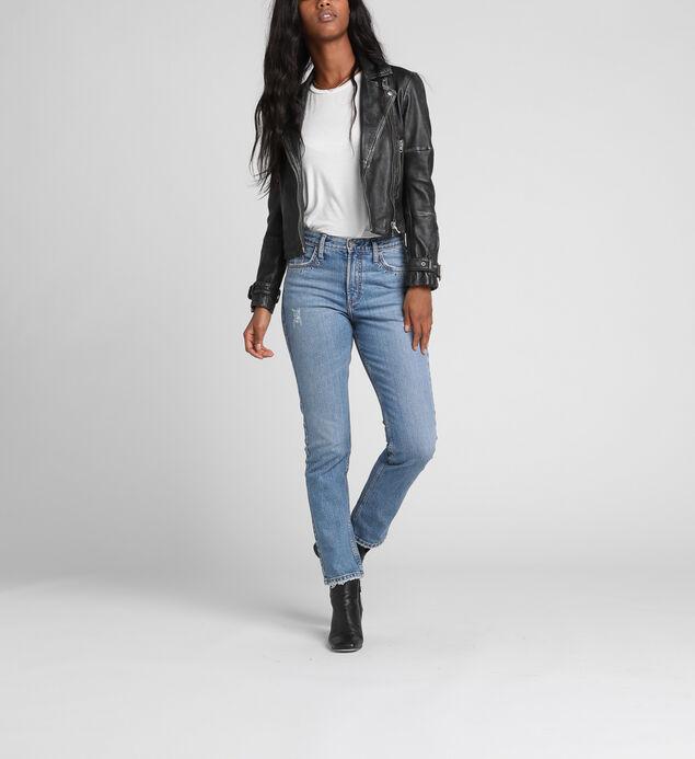 Frisco High Rise Straight Leg Jeans