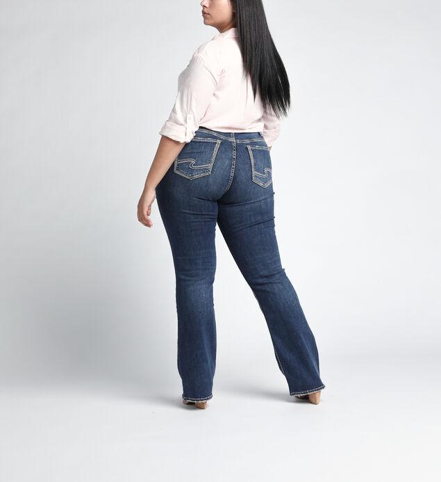 Suki Mid Rise Slim Bootcut JeansPlus Size, , hi-res