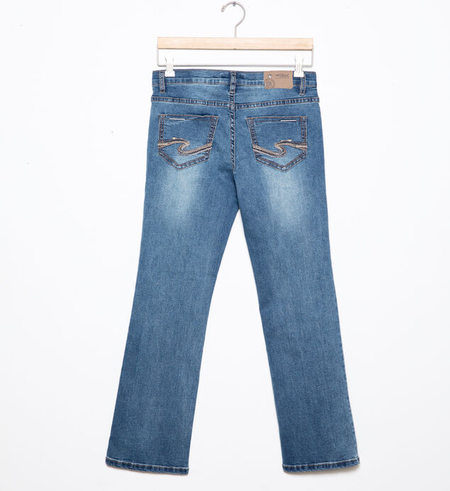 Zane Bootcut Jeans in Medium Wash (7-16), , hi-res