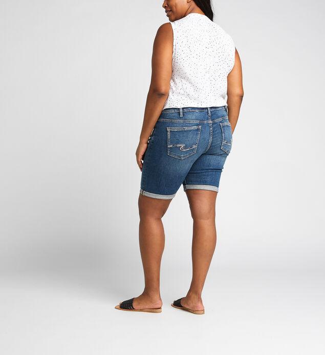 Elyse Mid Rise Bermuda Short Plus Size, , hi-res
