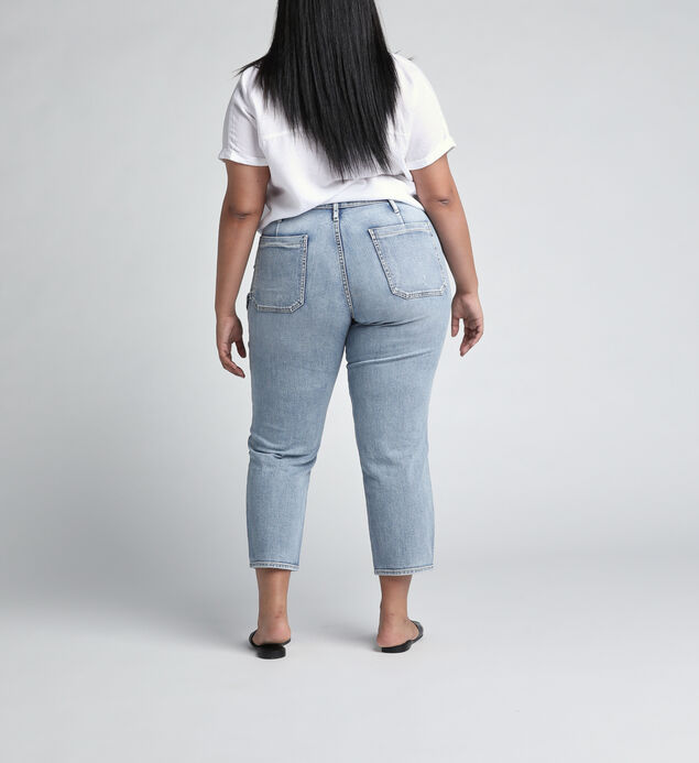 In The Loop Mid Rise Ankle Slim Leg Jeans Plus Size, , hi-res