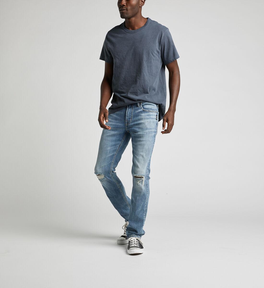 Konrad Slim Fit Slim Leg Jeans Front