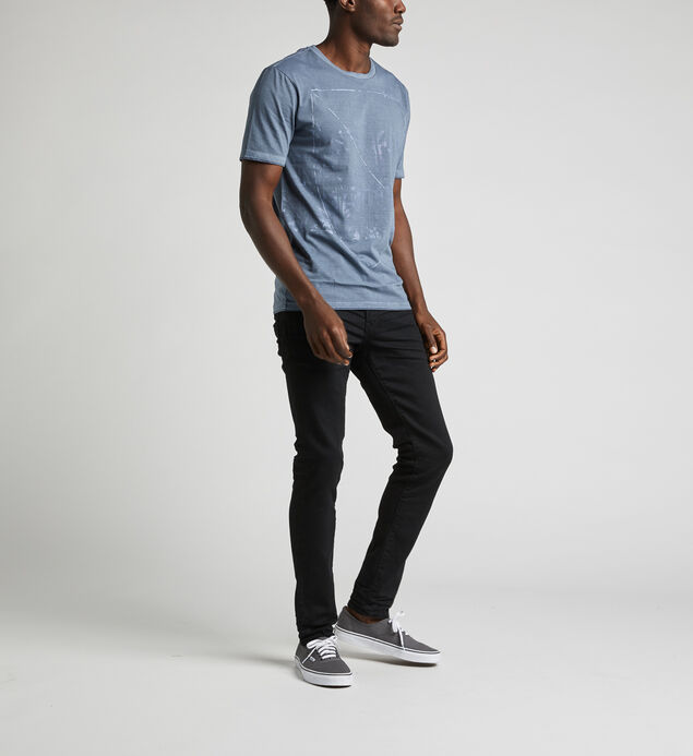 Dacoma Graphic Tee, Blue, hi-res