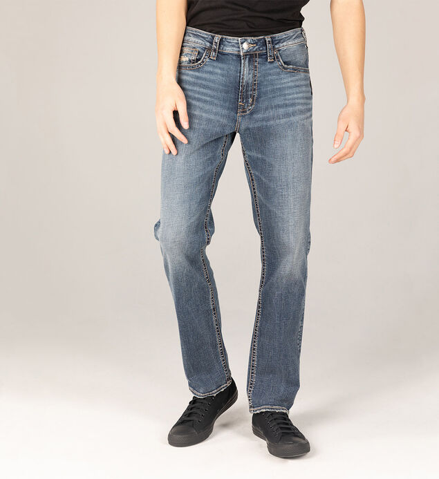 Grayson Easy Fit Straight Leg Jeans Big & Tall