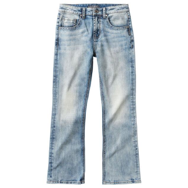 Zane Bootcut Jeans in Medium Wash (4-7)
