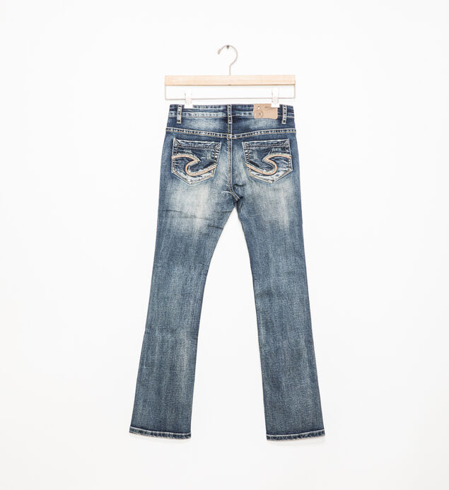 Tammy Dark-Wash Bootcut Jeans (7-16), , hi-res