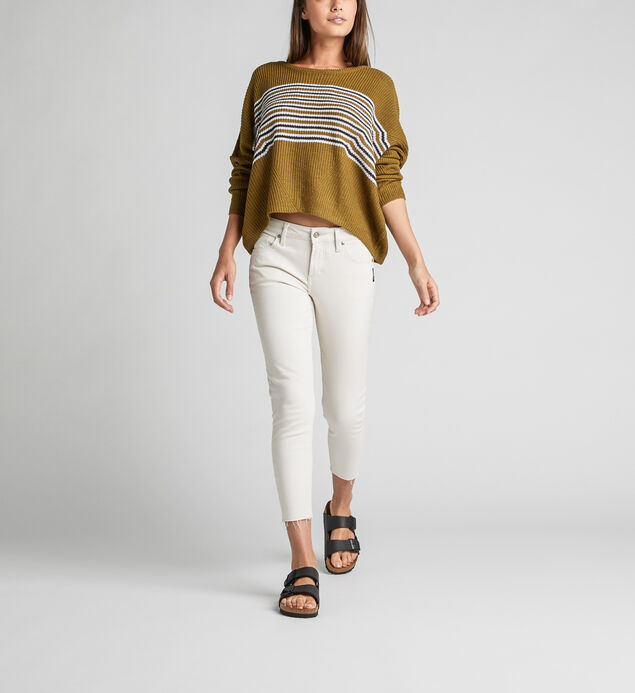 Avery High Rise Skinny Crop Pants