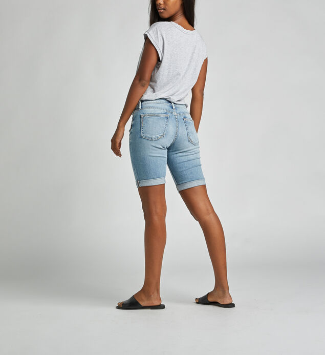Suki Mid Rise Bermuda Short, , hi-res