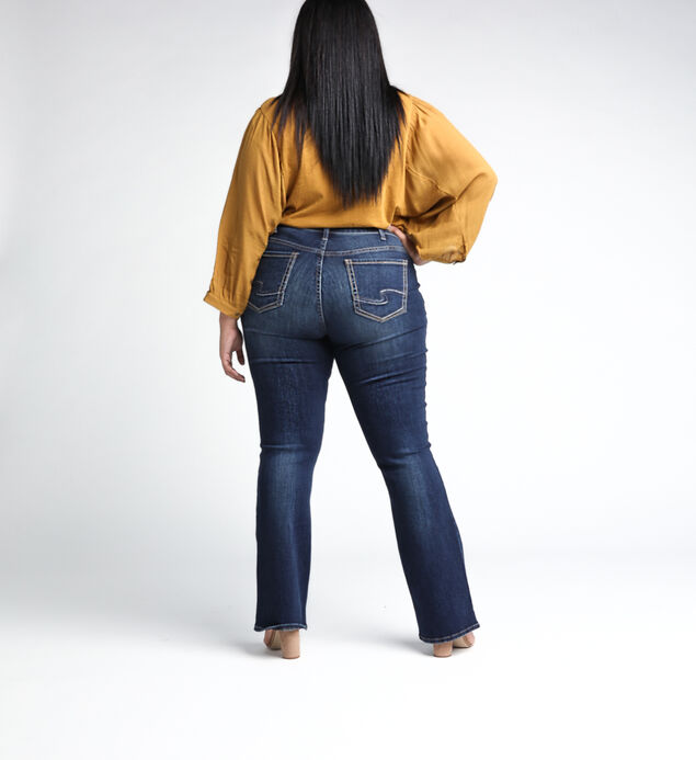 3fc0191b486 Elyse Mid Rise Slim Bootcut Jeans Plus Size, ...