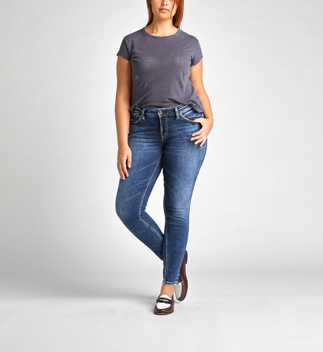 Elyse Curvy Relaxed Skinny Jeans