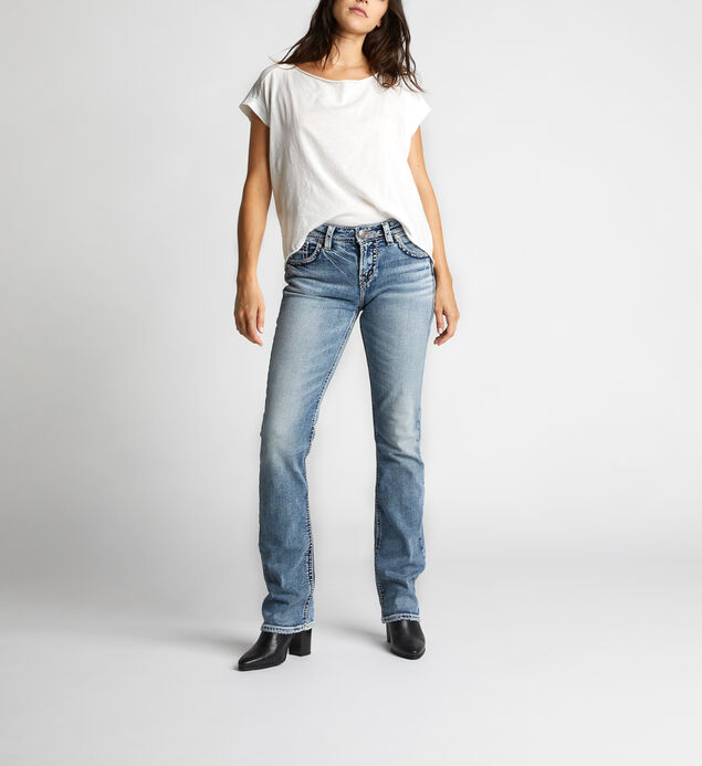 Suki High Rise Baby Bootcut Jeans