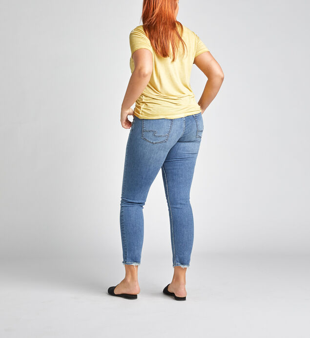 Avery High Rise Slim Leg Jeans, , hi-res