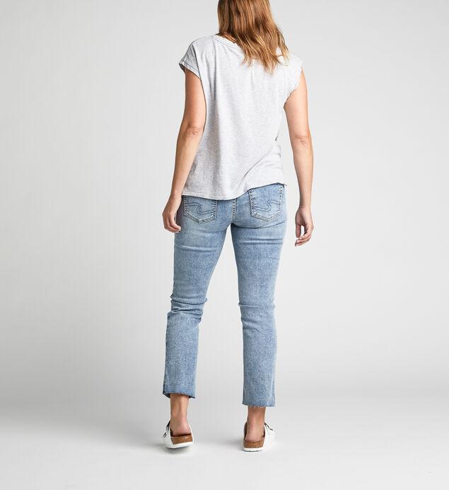 Avery High-Rise Curvy Slim Leg Jeans, , hi-res