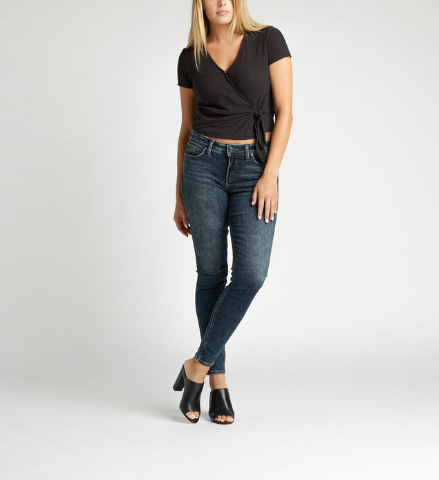 Elyse Mid Rise Skinny Jeans
