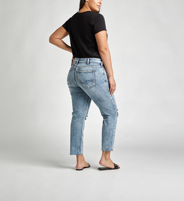 Avery High Rise Slim Leg Jeans Plus Size, , hi-res
