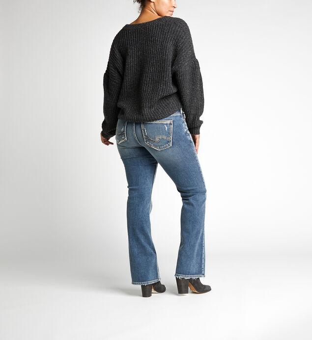 Suki Mid-Rise Curvy Bootcut Jeans, , hi-res