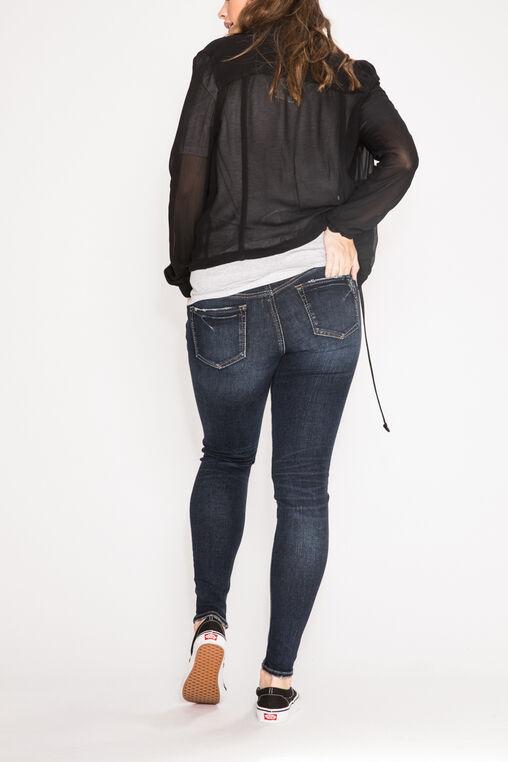 Suki Super Skinny Leg Maternity Jeans, Indigo, hi-res