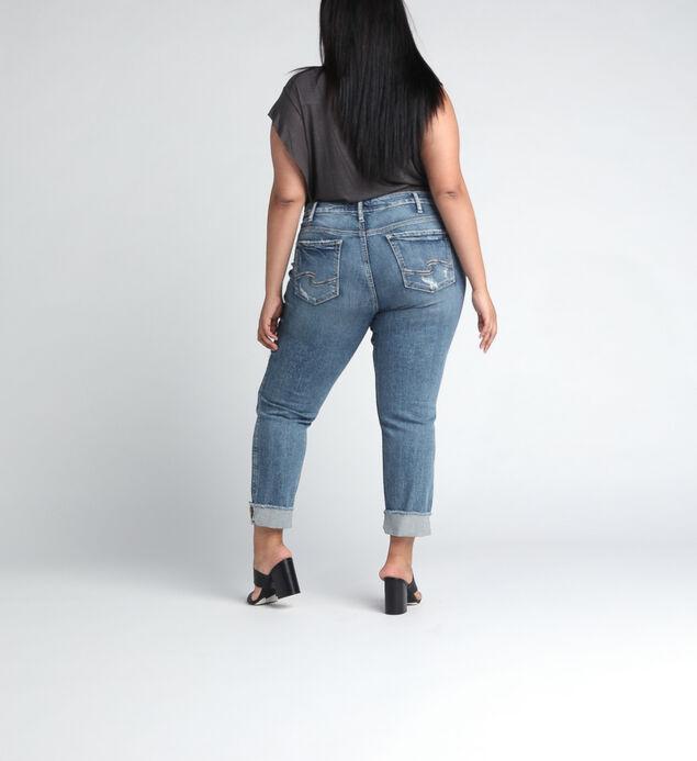 Elyse Mid Rise Ankle Slim Leg JeansPlus Size, , hi-res