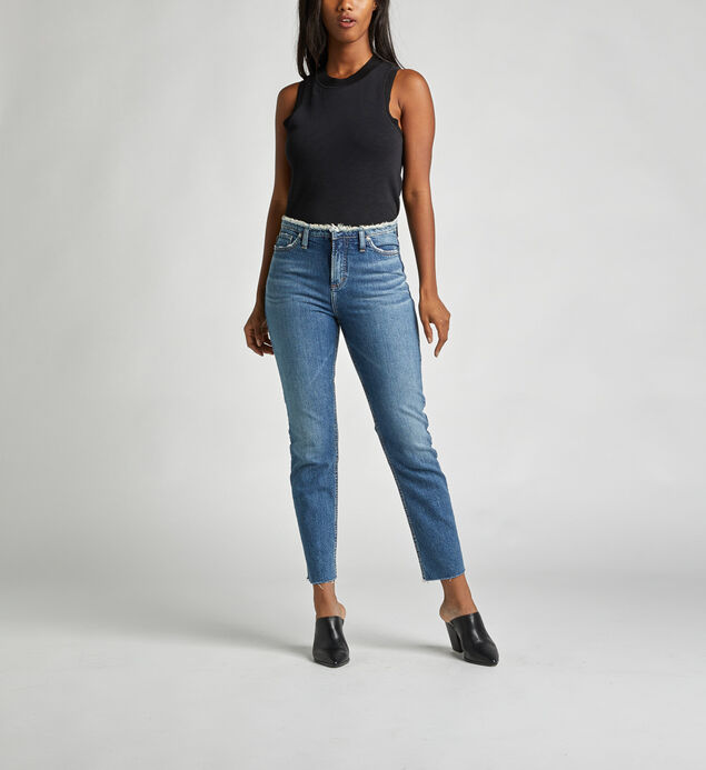 High Note High Rise Slim Leg Jeans
