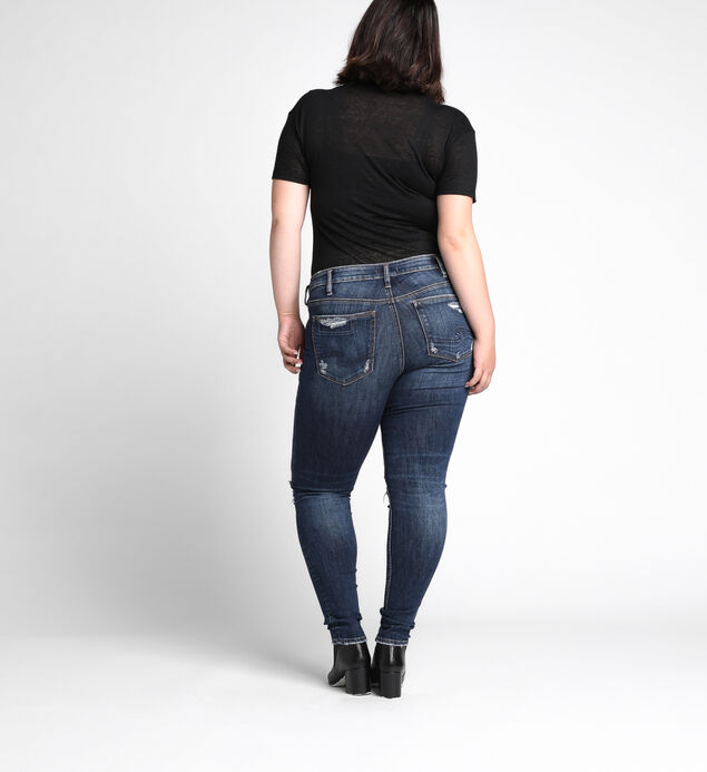 Suki Plus Size Skinny Dark Wash, , hi-res