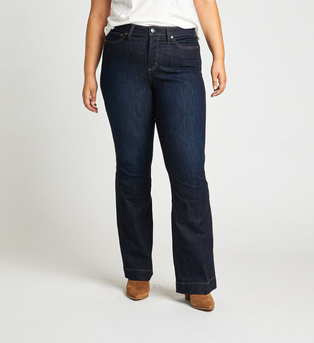 High Note High Rise Trouser Plus Size Jeans