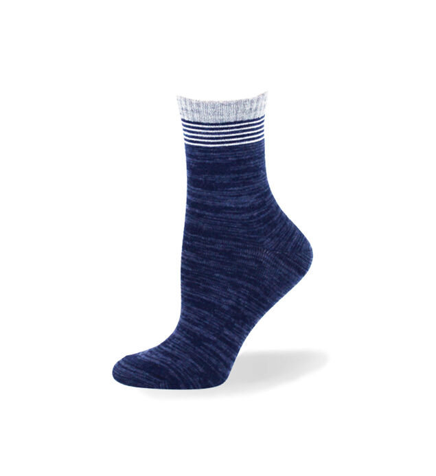 Striped Mid-Calf Socks