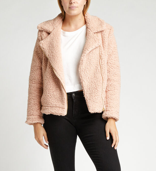 Chandelle Teddy Biker Jacket
