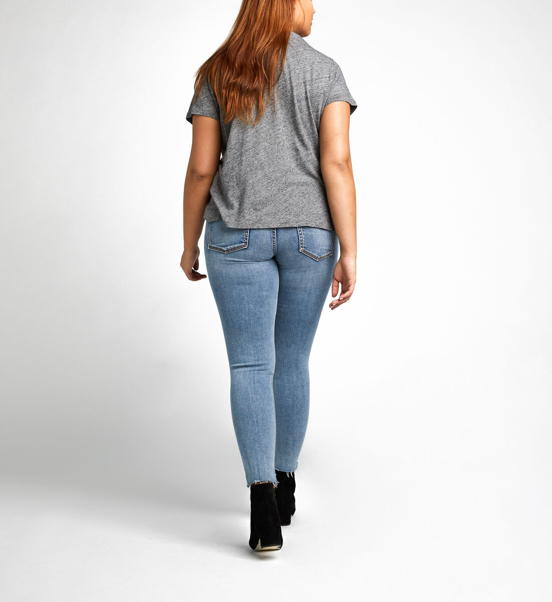 Aiko Ankle Skinny Maternity Jeans Side