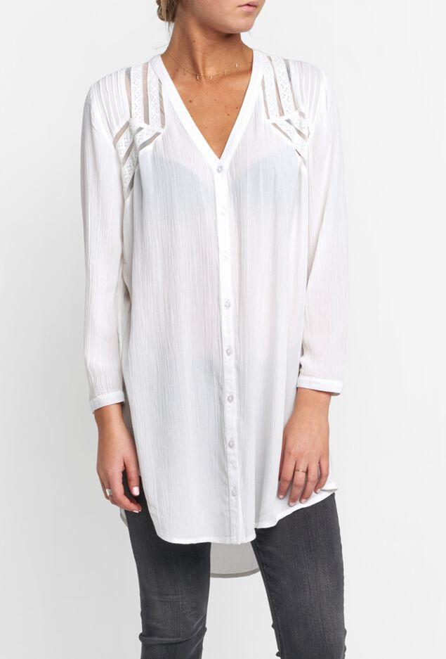 Shaw Tunic Shirtdress