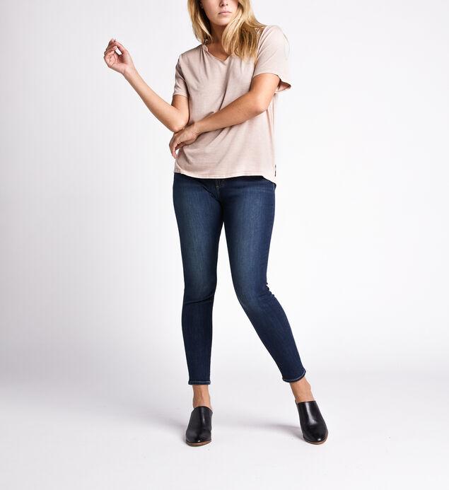 Arizona Slit-Neck Short-Sleeve Top, , hi-res