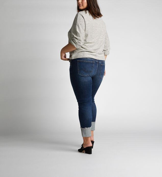 Elyse Mid Rise Slim Leg Jeans Plus Size, , hi-res