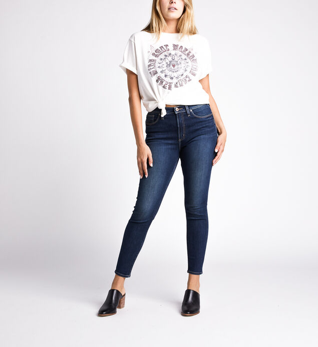 Calley High Rise Skinny Leg Jeans