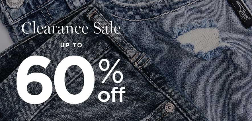 Silver Jeans Co. - Clearance Sale